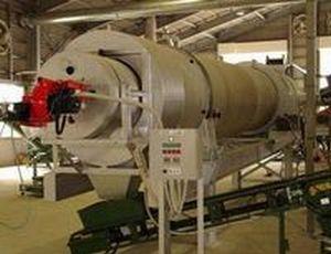 ロータリーキルン乾燥機